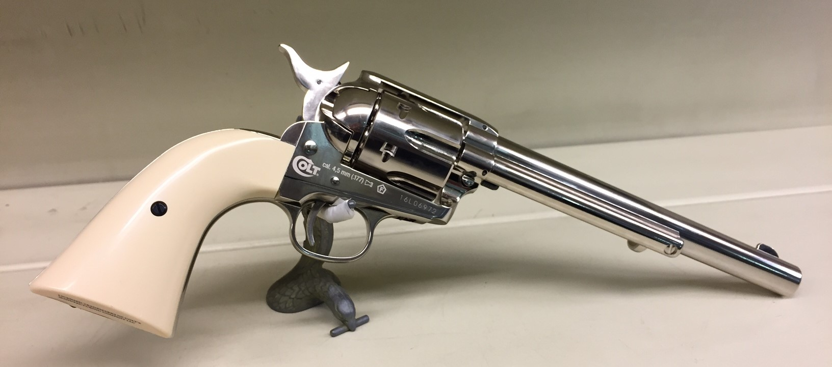 "Colt Peacemaker Nickel 7.5"" Pellet"